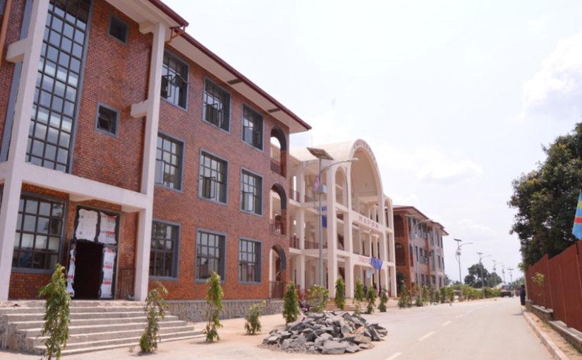 L'Université Mapon : dernière phase des travaux