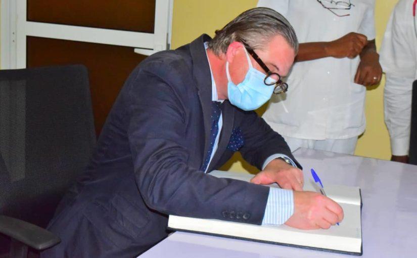 Visite à Kindu de l'ambassadeur de Suède en RDC